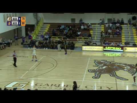 GCCC men's basketball VS Dodge City Community College