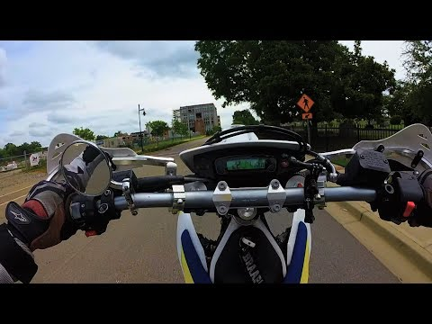 How To Wheelie A Supermoto FOR BEGINNERS | Rear Brake Is The Key