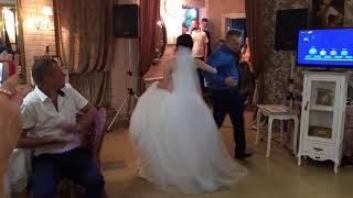 Танец отца и дочери на свадьбе 25.08.2018.