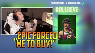 TFUE forced to buy SKIN! *BULLSEYE* | Symfuhny 200IQ trap play! | Fortnite Clips