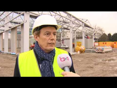 Village de la Construction avenue du Port à Bruxelles-Ville
