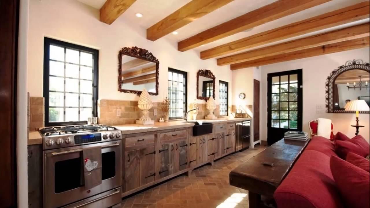 Cozinha Rustica Com Ilha Pendentes Na Ilha Da Cozinha Ilha Na