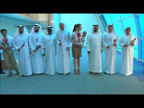 Azur Airlines - Sharjah Airport First Arrival