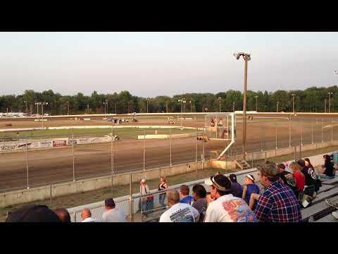 Daryn Pittman - Time Trials - Bridgeport Speedway - 6/19/12