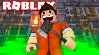 THERE ARE DIAMONDS IN PRISON! -Roblox Prison Escape Simulator English Ep 2