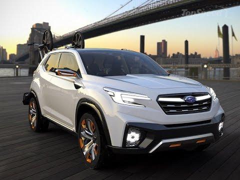 2017 Subaru Viziv Future Concept Amazing Cars