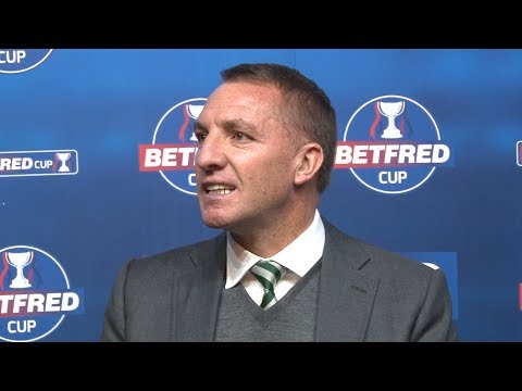 Hibernian 2-4 Celtic - Brendan Rodgers Full Post Match Press Conference - Betfred Cup