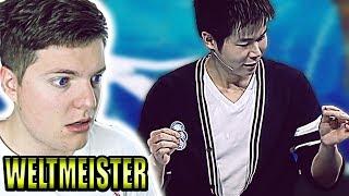 Der Zauberer WELTMEISTER ist ZURÜCK - Asia's Got Talent Reaktion (Eric Chien Winner)