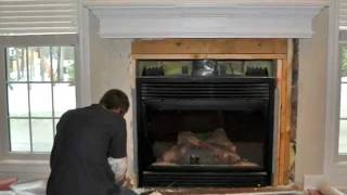 How To Tile A  Fireplace | Tiling | Marble | Natural Stone Tile