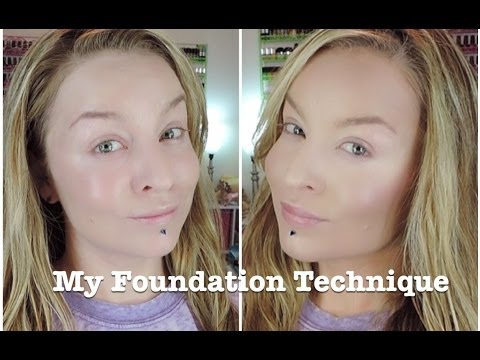 Technique : POWDER Foundation, Concealer, Contour, Blush, and Bronzer