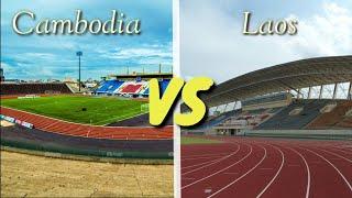 Cambodia ( Stadium ) vs ( Stadium ) Laos