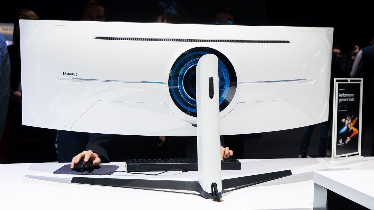 Samsung Odyssey G10 Gaming-Monitor mit extremer Krümmung, 10 Hz