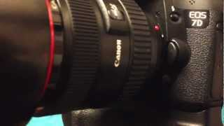 Canon EOS 7D Shutter at 8 frame per second (8 fps) EOS 7D Shutter sound