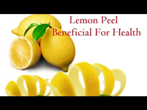 Lemon Peels Contain Cancer Fighting Compounds and Many More Health Benefits