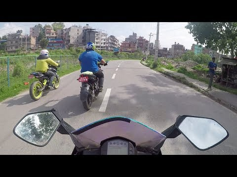 Protest Rally Nepal Bikers Community-Vlogs