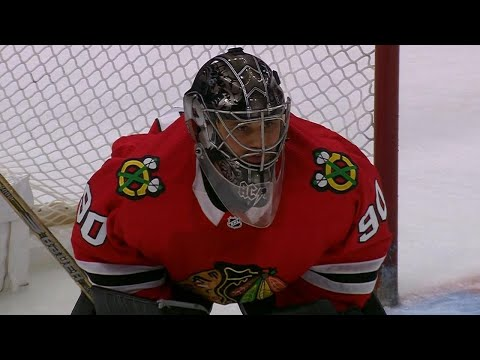 36-year-old rec league goalie Scott Foster plays for Blackhawks