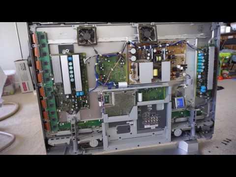 Plasma TV Repair - Seven blinking lights - Panasonic Viera TH-42PX60U