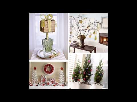 tabletop christmas tree decorations