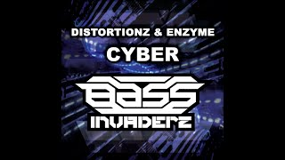 Distortionz & Enzyme - Cyber - Future Jungle Tekno Nu-Rave Hardcore Breaks Basement Records
