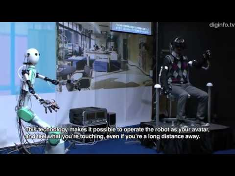 Telexistence Robot Avatar Transmits Sight, Hearing and Touch - TELESAR V DigInfo