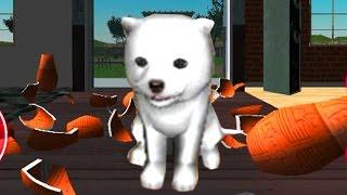СИМУЛЯТОР СОБАКИ 🐶🐶🐶 #1 ЩЕНОК  мульт-игра про щенка развлекательное видео