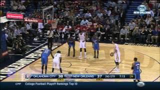 Oklahoma City Thunder vs New Orleans Pelicans Full Game Highlights 12.2.2014