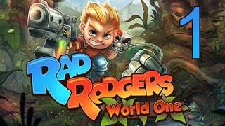 Rad Rodgers: World One The Intro Walkthrough Part 1 Gameplay Platformer Game No Commentary LetsPlay