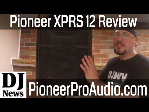 Pioneer Audio XPRS Powered DJ Speakers Review with Dan Carpenter   Disc Jockey News