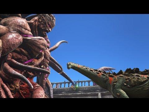 Titanosaur vs Rockwell (Aberration Boss!) || ARK: Aberration || Cantex