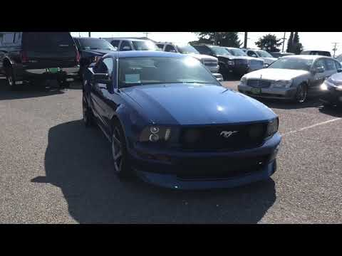 2006 Ford Mustang GT Manual Transmission For Sale