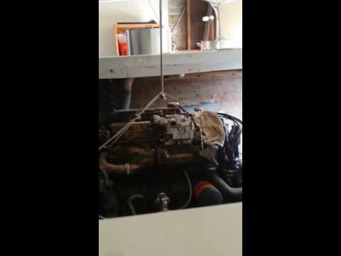 DIY engine hoist in my garage