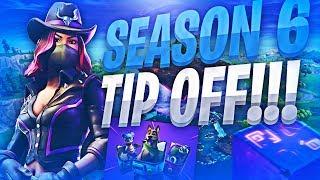 Season 6 Tipoff - My 1st Intense Clutch Of The Season Woah !! ( Fortnite Battle Royale)