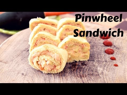 Pinwheel Sandwich | Fire Less Cooking Recipes | Kids Lunch Box | Quick And Healthy