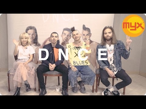 MYXclusive interview with DNCE!