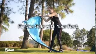 How to fold up a privacy tent / pop up tent