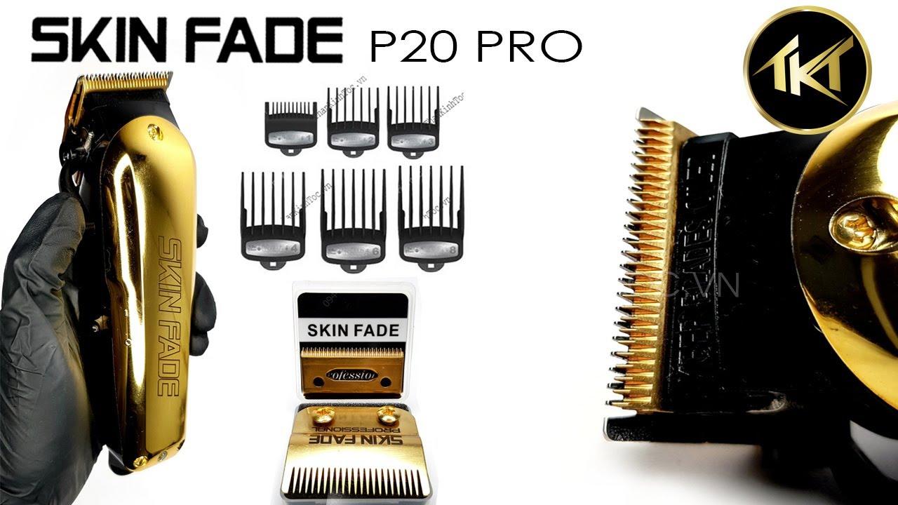 Tông đơ hớt tóc nam Skin Fade P20D chuyên kê lược - Game nhận quà #5 -  YouTube