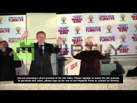 Turkey: Erdogan declares victory for AKP in local elections