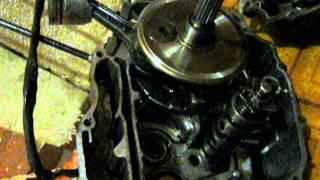 двигатель 166FMM ремонт