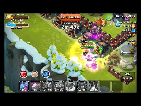Castle Clash High Might Raiding With Strategy