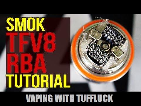 SMOK TFv8 RBA Tutorial ~ Make your Cloud Beast a RTA!