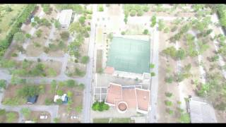 Parque de Campismo Idanha-a-Nova visto do ar - Camping Boom dam