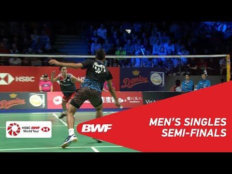 SF | MS | KIDAMBI Srikanth (IND) [7] vs Kento MOMOTA (JPN) [2] | BWF 2018