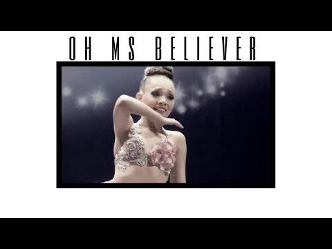 Dance Moms - Maddie Ziegler   Oh Ms Believer - twenty one pilots   Roleplay
