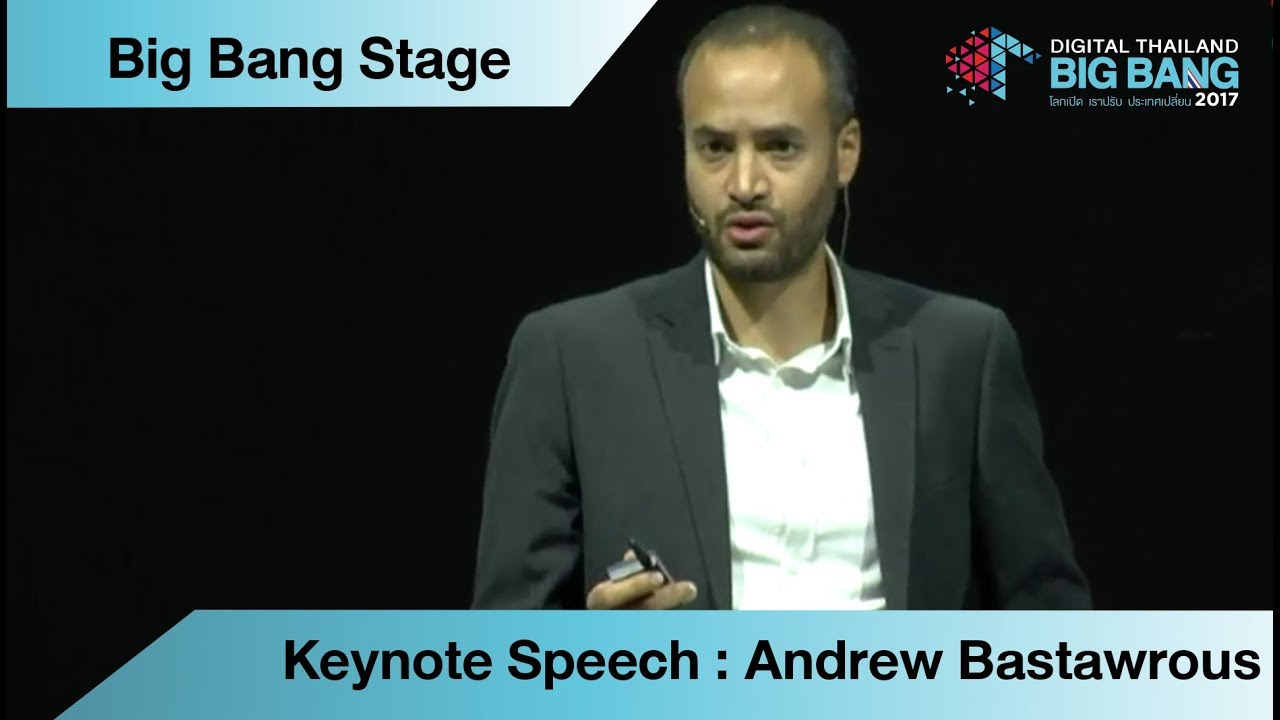 Keynote Speech : Andrew Bastawrous - Co-Founder & CEO, Peek Vision