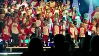 Little drummer boy. Carlys church choir