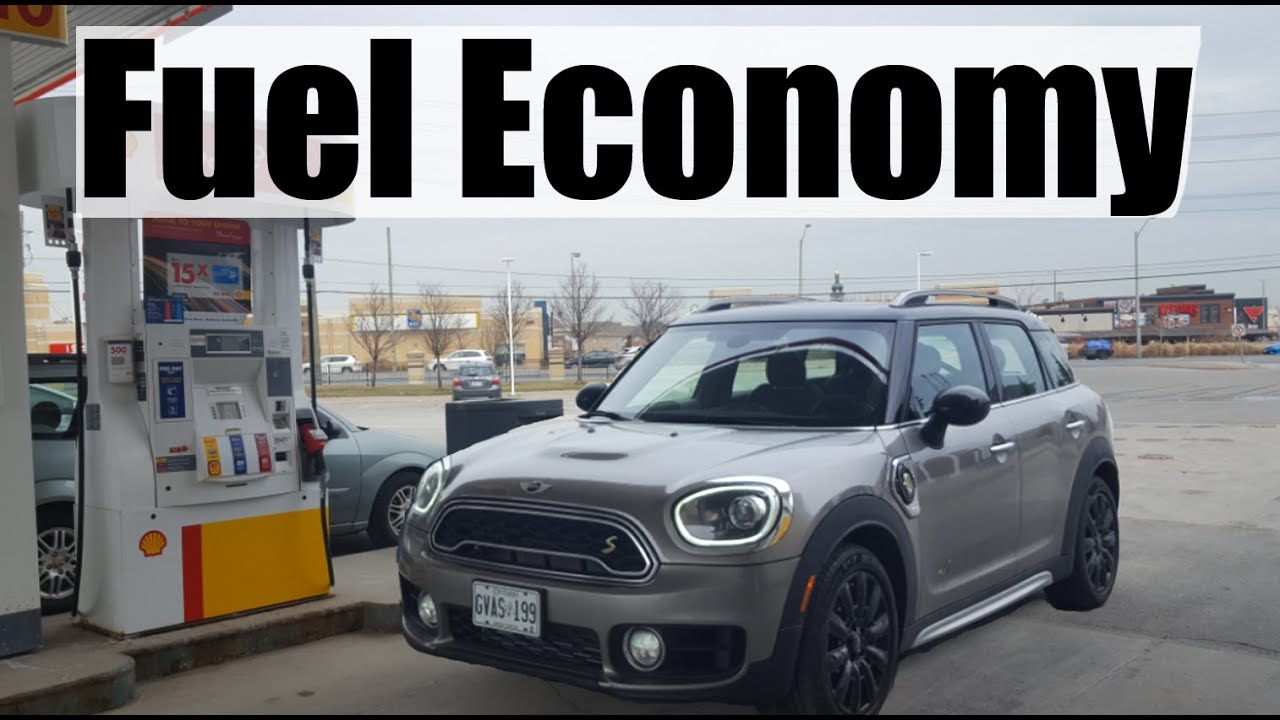 2018 mini countryman - fuel economy mpg review + fill up costs - youtube