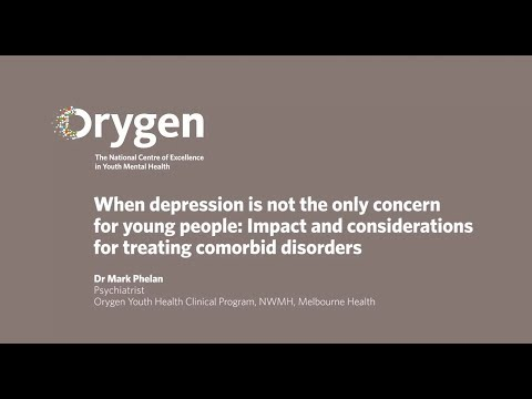 When depression is not the only concern for young people  Impact and considerations for treat