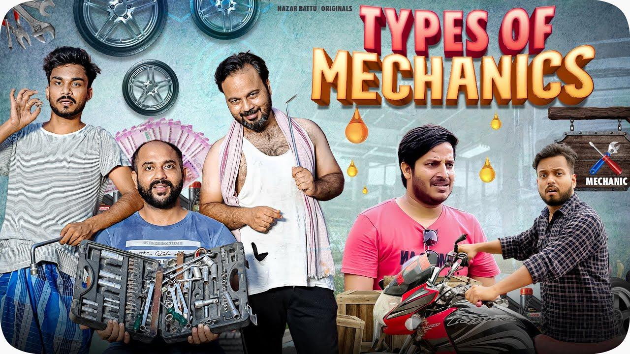 Types Of Mechanics II Nazarbattu