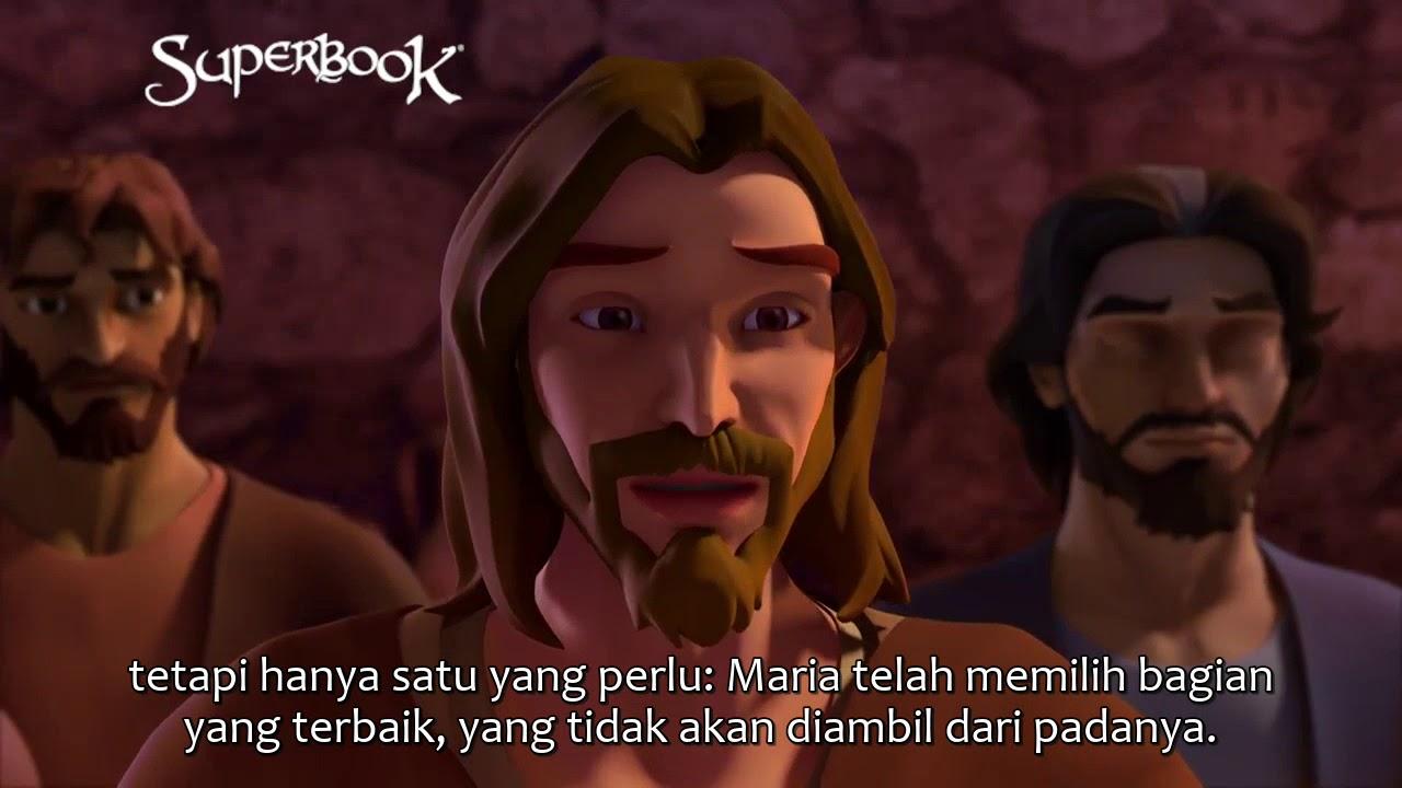 Download Superbook Subtitle Indonesia - Marta Mengeluh Soal Maria
