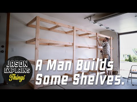 Garage Storage Shelves | EASY BUILD